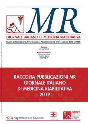 MR GIORNALE ITALIANO DI MEDICINA RIABILITATIVA - 2019 corsi fad ecm online